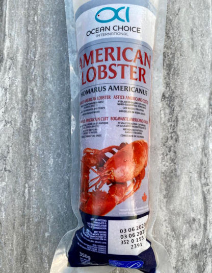 whole cooked lobster popsicle bag lobster